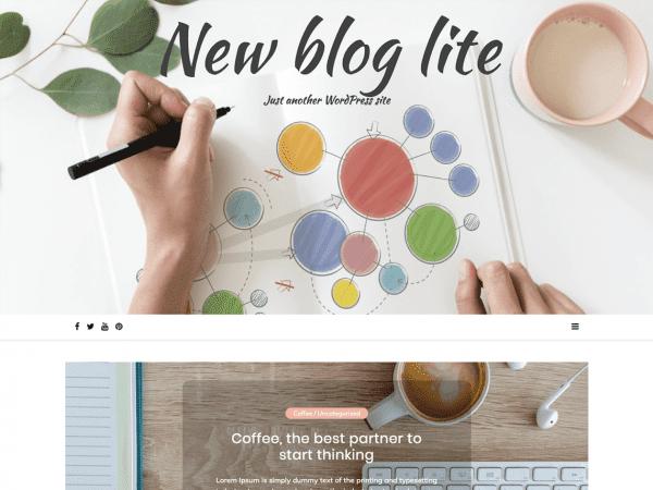 Free New Blog Lite WordPress theme