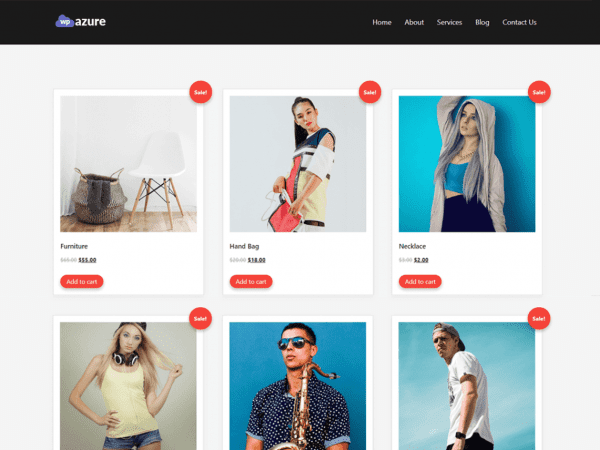 Free Wpazure WordPress theme