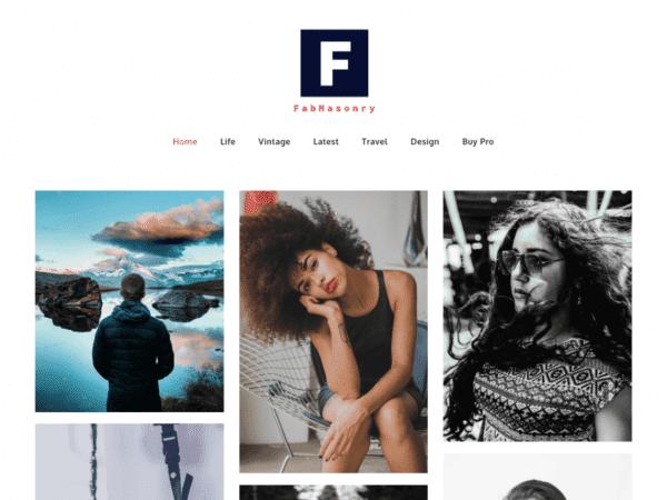 Free FabMasonry WordPress theme