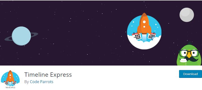 WordPress Timeline plugin