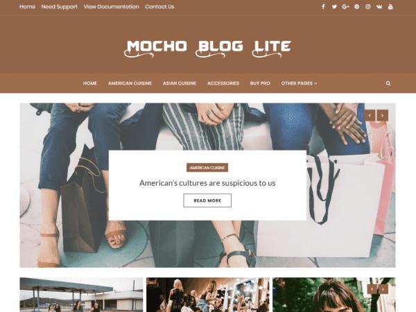 Free Mocho Lite WordPress theme