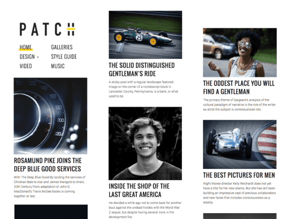 Free Patch Lite WordPress theme