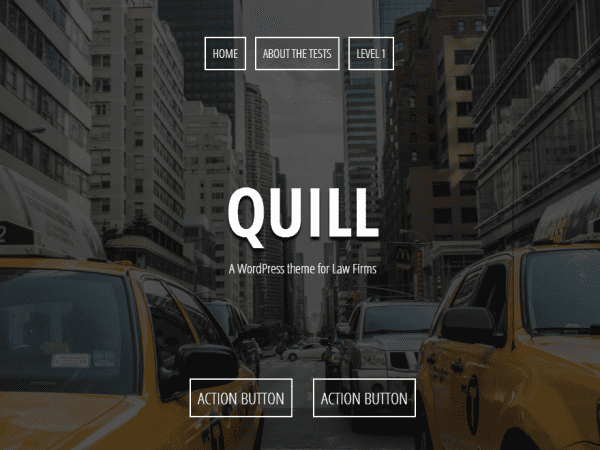 Free Quill WordPress theme