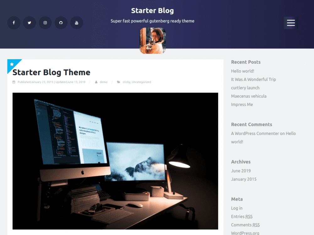 starterblog