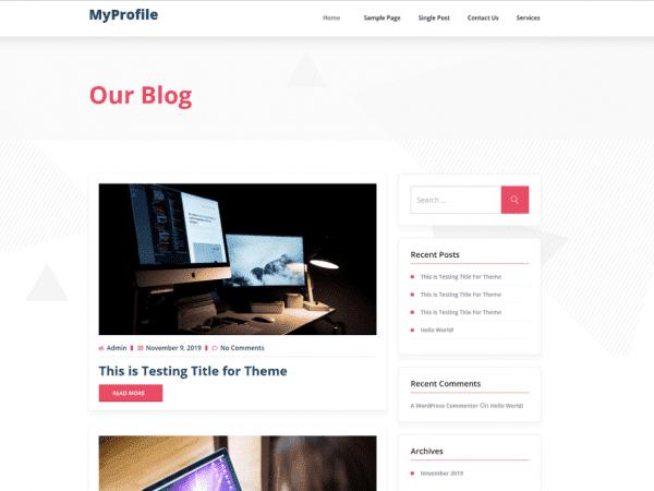 myprofile