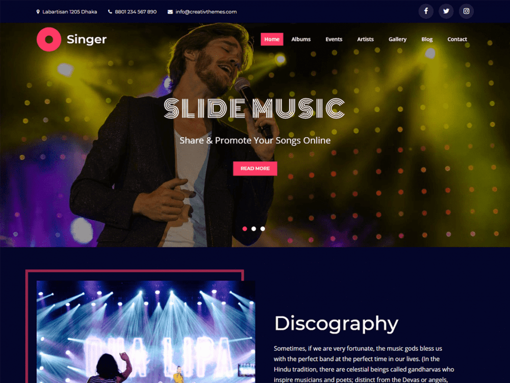 creativ singer