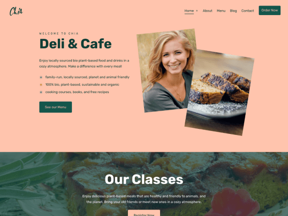 Chia Lite WordPress Theme