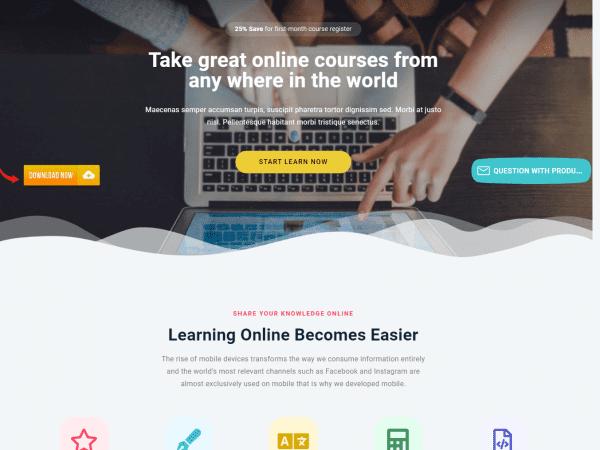 LT eLearning WordPress Theme