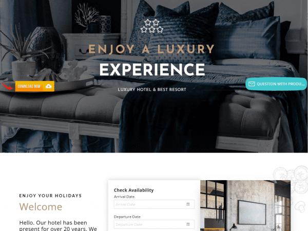 LT Hotel WordPress Theme
