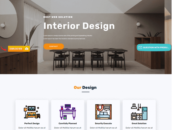 LT Interior Design WordPress Theme