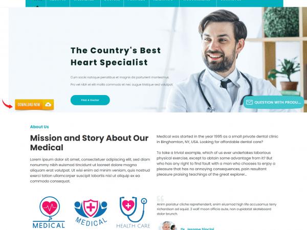 LT Medical WordPress Theme