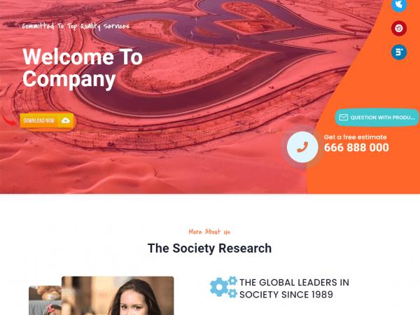 LT Society WordPress Theme