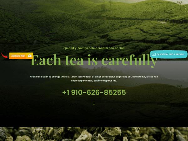 LT Tea WordPress Theme