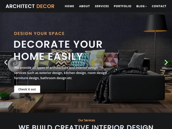 Architect Decor WordPress Theme
