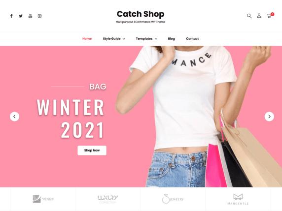 Catch Shop WordPress Theme