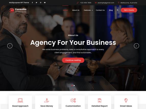 Consultare Light WordPress Theme