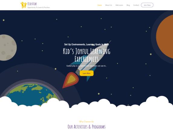 KidsVibe WordPress Theme
