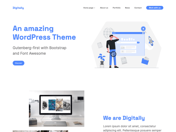 Digitally WordPress Theme