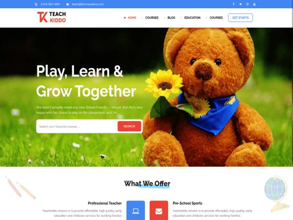 Teach Kiddo WordPress Theme