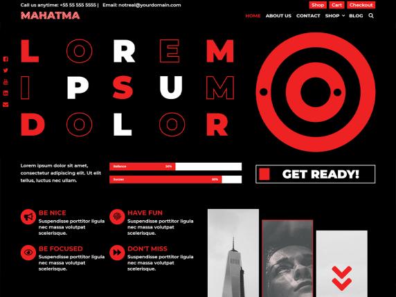 Mahatma WordPress Theme