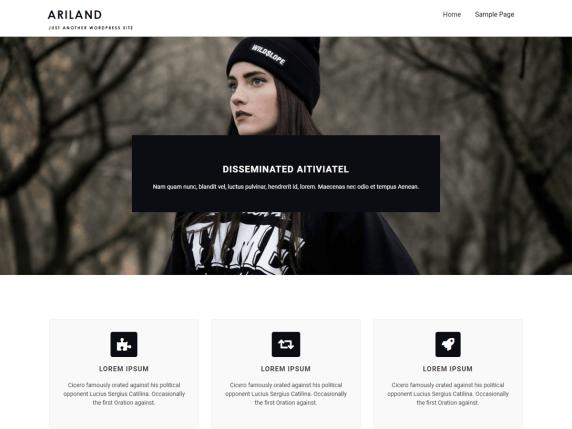 Ariland WordPress Theme